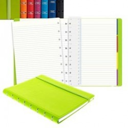 Notebook Pocket f.to 144x105mm a righe 56 pag. verde similpelle Filofax L115014