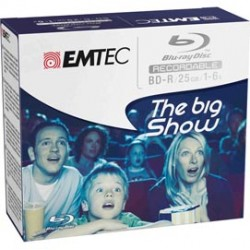 BD-R EMTEC 25GB 1-6x JEWEL CASE (kit 5pz) ECOBDR2556JC