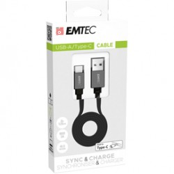 Emtec Cavo USB-A to type C T700 ECCHAT700TC
