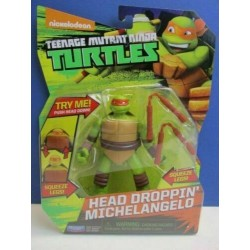 turtles MICHELANGELO 10CM head dropping