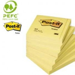 BLOCCO 100fg Post-it 76x76mm 654 7100103157 - Conf da 12 pz.