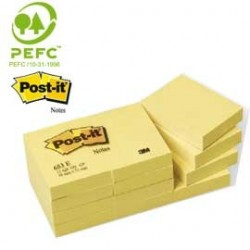 BLOCCO 100fg Post-it 38x51mm 653 7100172745 - Conf da 12 pz.