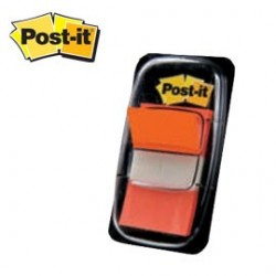 SEGNAPAGINA Post-it 680-4 ARANCIO 25.4X43.6MM 50FG INDEX 4650.