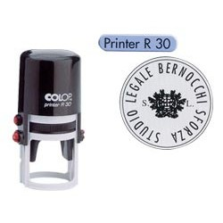 Timbro Printer R30 diametro 30mm personalizzabile autoinchiostrante COLOP PRINTER.R30