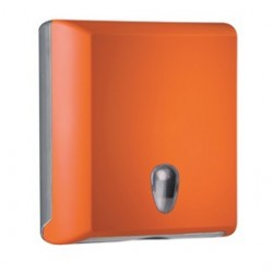 Dispenser asciugamani piegati C/Z orange Soft Touch A70610EAR