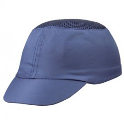 CASCHETTO ANTI-URTO BLU tipo baseball COLTAN COLTABL